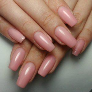 Gelnägel rosa nude